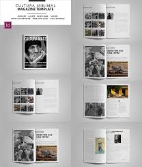 editable magazine template magazine powerpoint template free