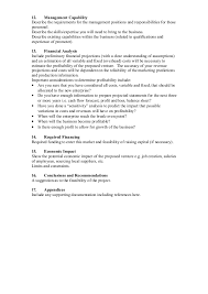 Job Experience On Resume by Sample Contents Of A Completed Feasibility Study