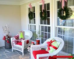 outdoor decor ideas front porch tree topiary trees