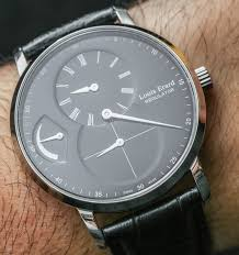louis erard excellence regulator power reserve watch review by