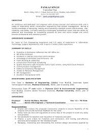 environmental engineer resume sample 4 2 environmental engineer cv