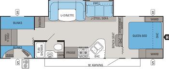 jay flight travel trailers floor plans 2014 white hawk floorplans u0026 prices jayco inc