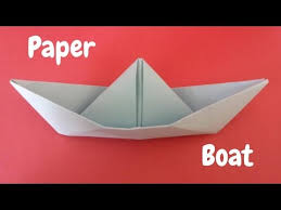 How To Make Boat From Paper - how to make a paper boat origami step by step tutorial