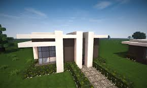 Modern Houses Minecraft Minecraft Small Modern House Tutorial Youtube