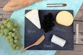 chalkboard cheese plate green slate cheese plate assorted sized rocktimber co