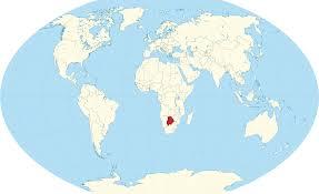 Botswana Map File Botswana In The World W3 Svg Wikimedia Commons