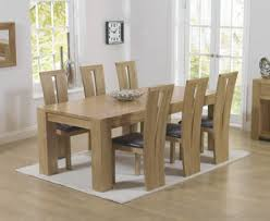 oak dining room table and chairs berita