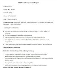 Product Manager Resume Sample Manufacturing Resume Template U2013 26 Free Samples Examples Format