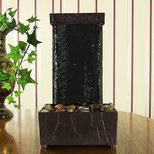 Home Decor Fountain Lighted Stream Tabletop Water Fountain W Led Lights By Sunnydaze
