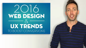 Homepage Design Trends 2016 Web Design Trends To Boost Conversions Youtube