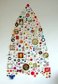 wall christmas tree alt wall christmas trees improvised