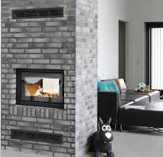 Insert For Wood Burning Fireplace by Wood Fireplace Insert Double Sided 21 Rais 2 Sided Wood Burning