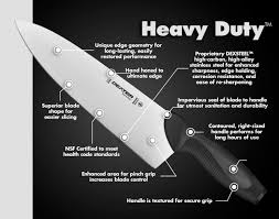 chef knife 10 inch dexter russell heavy duty