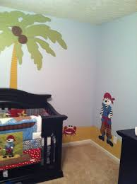 Pirate Themed Kids Room by Pirate Theme Baby Room Hand Painted By Mamaw Home Pinterest