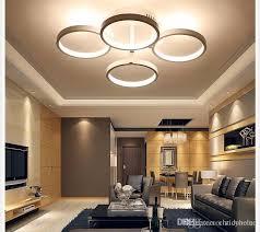 modern light fixtures for living room living room lighting 2018 circle rings designer modern led ceiling lights l for