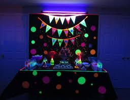 glow in the birthday party glow birthday party glow in the birthday emmas 14th birthday