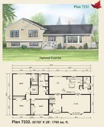 tri level floor plans well protected 88148sh 1st floor master suite cad available