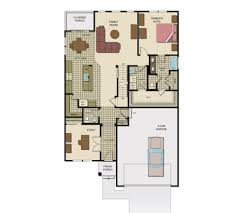 Color Floor Plan Floor Plans New Home Floor Plans
