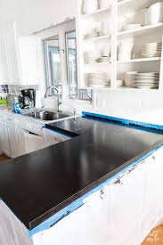 How To Paint Kitchen Countertops by Painting Kitchen Countertops To Look Like Carrara Marble In My