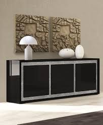 furniture black sideboard buffet and 3 door sideboard ideas for