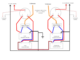 twin engine 1 alt 4 batterys 2 house 2 motor wiring diagram page