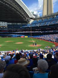 rogers centre section 125r home of toronto blue jays toronto
