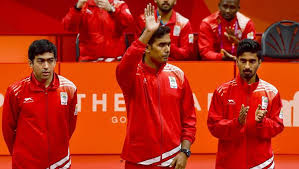 medal sports game table india clinch men s table tennis gold medal at 2018 commonwealth