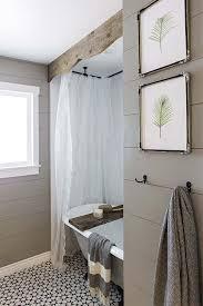 Diy Ideas For Bathroom Best 25 Farmhouse Shower Curtain Ideas On Pinterest Bathroom