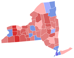 New York State Counties Map file new york governor election results by county 2014 svg