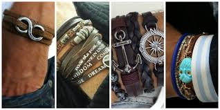leather bracelet fashion images The best men 39 s bracelets that ooze cool the trend spotter jpg