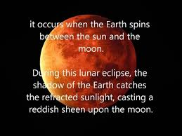 what does the term blood on the moon quora