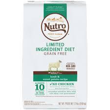 nutro limited ingredient diet lamb u0026 sweet potato recipe dry
