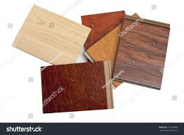 Hardwood Floor Samples Different Kind Hardwood Flooring Samples Isolated Stock Photo