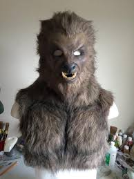 Werewolf Mask Wolfman Werewolf Mask By Shadowcast89 On Deviantart