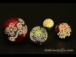illuminated etched ornaments dremel tutorial