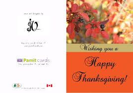 thanksgiving greeting cards printed and mailed for you