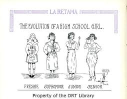 brackenridge high school yearbook suggested clothing for the high school girl 1918 inside the gates