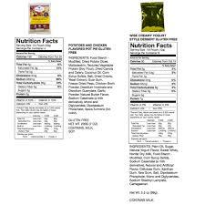 gluten free entree bucket 84 servings wise food storage