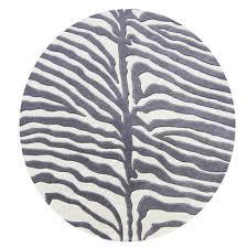 Taupe Zebra Rug Zebra Round Rug Roselawnlutheran