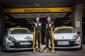 renault china 260hp engine upgrade for 2017 renault clio cup china series news