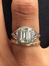 moissanite vintage engagement rings 99 best engagement rings images on ring sizes halo