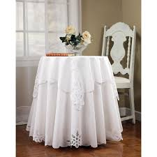 What Size Tablecloth For 60 Inch Round Table The 70 Inch Round White Tablecloth Designs With Prepare Top Best
