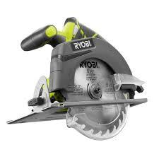 Ryobi Tile Saw Manual by Ryobi 18 Volt One 6 1 2 In Cordless Circular Saw Tool Only