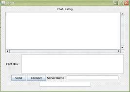 kumpulan tutorial java netbeans simple chat program in java source code source code aplikasi