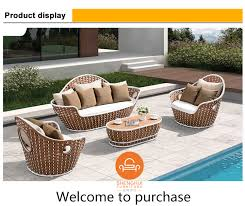 Rattan Garden Furniture Sofa Set Leisure Outdoor Garden Sofa Furniture Rattan Outdoor Furniture