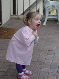 Excited Face Meme - psbattle excited little girl photoshopbattles