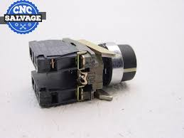 telemecanique keyed selector switch position w2 contact zbe