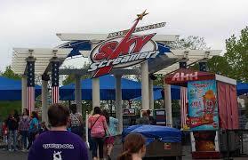 New Jersey Six Flags Address Six Flags New England Adds Sky Screamer Theme Park University