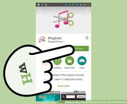 free ringtone downloads for android cell phones how to get free ringtones for the lg cell phones 14 steps