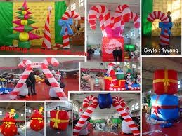 Polar Bear Christmas Decorations Led by 2014 Inflatable Santa Claus And Polar Bear Air Blown Pop Up Santa